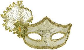mask for masquerade party gold parisian masquerade mask wedding ideas