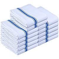 serviette de cuisine amazon fr bleu serviettes et torchons à vaisselle linge de
