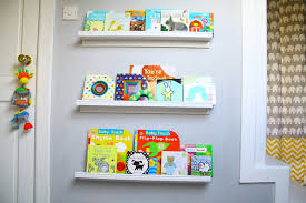 Ikea Ledges by A Grey And Yellow Baby Nursery Room Tour Oh Little One Sweet