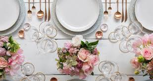 plate table top de perrin luxury table top rental and design studio