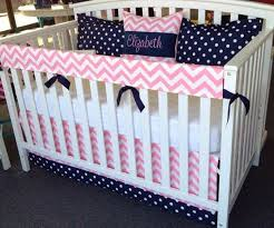 pink crib bedding for girls home inspirations design