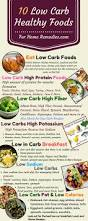 10 low carb foods low fat sugar high protein fiber potassium foods
