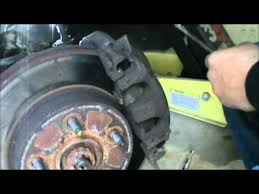 2000 jeep grand front brake replacement diy