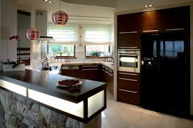 Red And Black Kitchen Cabinets 40 Inviting Contemporary Custom Kitchen Designs U0026 Layouts