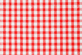 checkered tablecloth stock photo picture and royalty free image