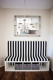 ikea dining banquette bench made from bookcase creative