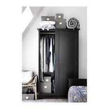 Wardrobe Interior Accessories Hemnes Wardrobe With 2 Sliding Doors Black Brown Ikea