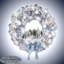 kinkade wreath decore