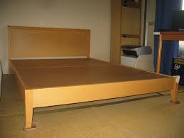 Bed Frame For King Size Bed King Size Bed Frame Plans Mid Century Build King Size Bed Frame