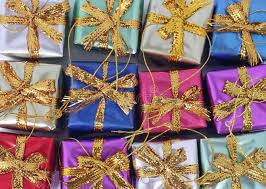 present ornaments royalty free stock photography image