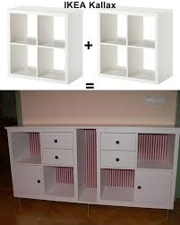 Using 2 Ikea Expedit Bookcases by Ikea Kallax Hack New Furniture For Our Dining Room Created By