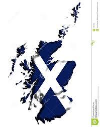 scotland map stock image image 3707201