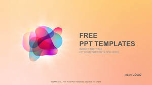 color bubbles abstract ppt templates
