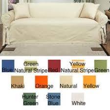 Cotton Duck Sofa Slipcover Cotton Duck Sofa Slipcover U003e Yellow Stripes Are So Sunny And