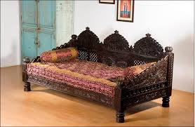Day Bed Sofa by Monsooncraft Com Indian Carved Maharaja Sofa Set Design