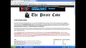 unblock access pirate bay tpb