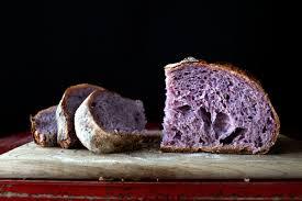the blushing boule purple yam country bread u2013 lady and pups u2013 an