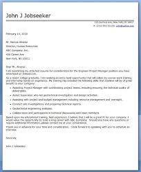 ideas of entry level project management cover letter sample with