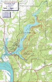 Mn State Park Map by Greenleaf State Park Oklahoma Free Detailed Topo Map
