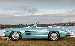 mercedes auction 1958 mercedes 300sl roadster goes on auction tomorrow buro 24 7