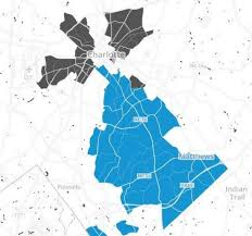 Zip Code Map Charlotte Nc Two Maps Show Gentrification Economic Inequality In Charlotte