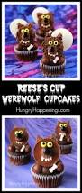 Cup Cakes Halloween by Reese U0027s Cup Werewolf Cupcakes Halloween Treats