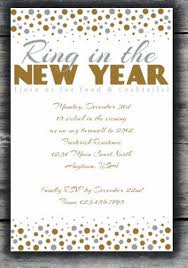 new year invitation card gold silver new year invitation merry christmas and happy new