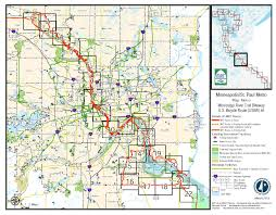Mn Counties Map Metro Mississippi Mississippi River Trail Mndot