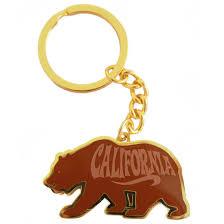 California Republic Flag California Republic Bear Flag Keychain California Republic Clothes
