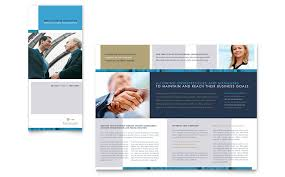 templates for business consultants small business consulting tri fold brochure template word publisher