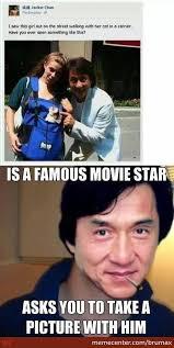 Jackie Chan Meme - good guy jackie chan by brumax meme center