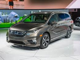 Interior Of Honda Odyssey 2018 Honda Odyssey Redesign Review And Interior
