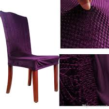 Polyester Chair Covers Universal Classic Seat Cover Polyester Stretch Chair Cover Elastic