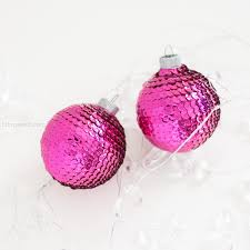 diy sequin ornaments one woof