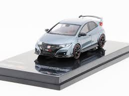 grey honda civic tarmac works hobby64 1 64 honda civic type r fk2 polished metal grey