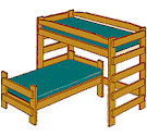 Bunk Bed Loft Bed And Trundle Bed Definitions - Meaning of bunk bed