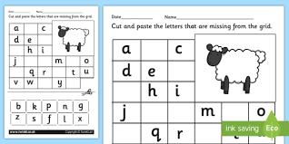 printable alphabet grid missing letters alphabet grid worksheet farm a z grid
