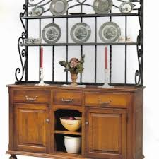 Metal And Wood Bakers Rack Nice Kitchen Bakers Racks With Grey Color Metal Kitchen Bakers