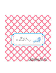 free printable mother u0027s day candy bar wrapper creative juice