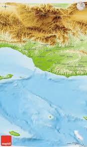 Ventura County Map Physical 3d Map Of Ventura County