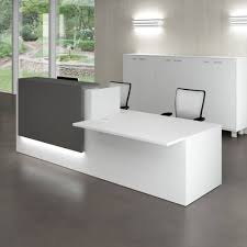 Reception Office Desk Furniture Idea Fetching Small Reception Desk With Office Desk