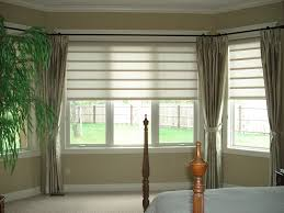 Window Treatment For Bow Window Kitchen Window Blinds Kitchens Kitchen Window Blinds Kitchen