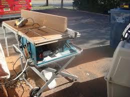 makita portable table saw makita 2705 table saw tools equipment contractor talk