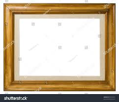 wood canvas antique frame wood canvas italian stock photo 95721679