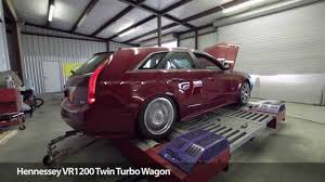 hennessey cadillac cts v wagon 1200 hp cts v wagon by hennessey performance