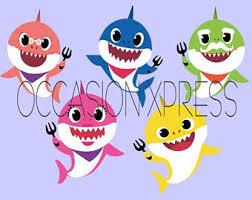Baby Shark Baby Shark Etsy