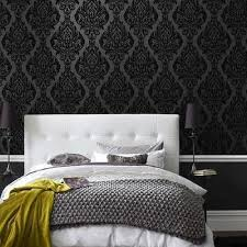 Black And White Damask Chair Design Ideas - Damask bedroom ideas