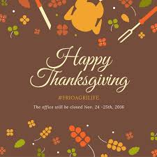 thanksgiving office closed
