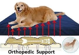 extra large orthopedic memory foam pet dog bed 40
