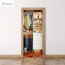 porte de placard chambre yunxi 2017 nouveau 3d porte vêtements placard porte placard salon